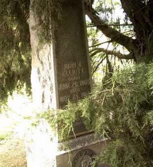 ELLIOTT, JOHN A - Jackson County, Arkansas   JOHN A ELLIOTT - Arkansas Gravestone Photos