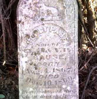 GAUSE, PERCY PAGE - Jackson County, Arkansas | PERCY PAGE GAUSE - Arkansas Gravestone Photos