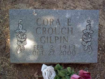 GILPIN, CORA E - Jackson County, Arkansas | CORA E GILPIN - Arkansas Gravestone Photos