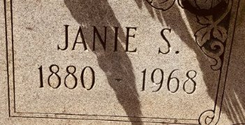 GOAD, JANIE SARAH (CLOSE UP) - Jackson County, Arkansas | JANIE SARAH (CLOSE UP) GOAD - Arkansas Gravestone Photos