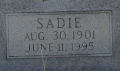 GOAD, SADIE (CLOSE UP) - Jackson County, Arkansas   SADIE (CLOSE UP) GOAD - Arkansas Gravestone Photos