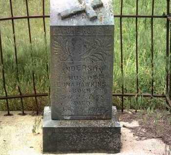 HAWKINS, ANDERSON - Jackson County, Arkansas   ANDERSON HAWKINS - Arkansas Gravestone Photos