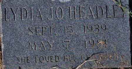HEADLEY, LYDIA JO - Jackson County, Arkansas | LYDIA JO HEADLEY - Arkansas Gravestone Photos
