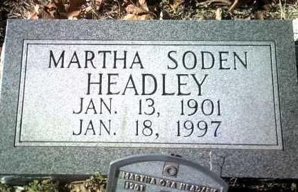 HEADLEY, MARTHA ORA - Jackson County, Arkansas | MARTHA ORA HEADLEY - Arkansas Gravestone Photos