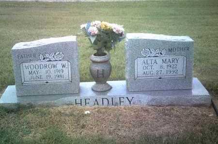 HEADLEY, WOODROW W - Jackson County, Arkansas | WOODROW W HEADLEY - Arkansas Gravestone Photos