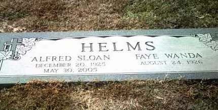 HELMS, ALFRED SLOAN - Jackson County, Arkansas | ALFRED SLOAN HELMS - Arkansas Gravestone Photos