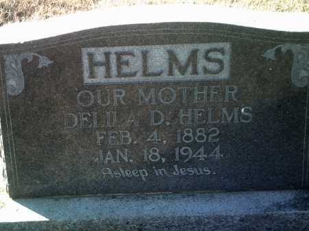 HELMS, DELILA D. - Jackson County, Arkansas | DELILA D. HELMS - Arkansas Gravestone Photos