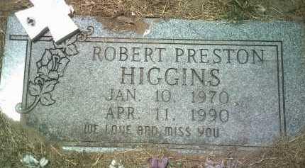 HIGGINS, ROBERT PRESTON - Jackson County, Arkansas   ROBERT PRESTON HIGGINS - Arkansas Gravestone Photos