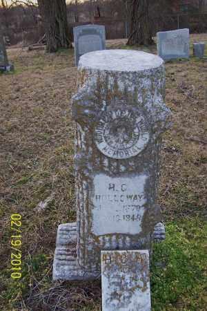 HOLLOWAY, H C - Jackson County, Arkansas   H C HOLLOWAY - Arkansas Gravestone Photos