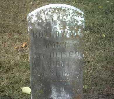 HOLLOWAY, WILLIE A - Jackson County, Arkansas   WILLIE A HOLLOWAY - Arkansas Gravestone Photos
