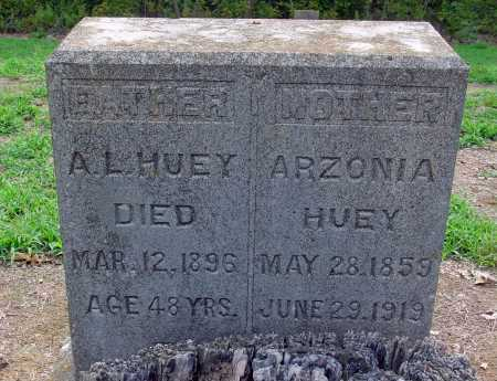 HUEY, A L - Jackson County, Arkansas | A L HUEY - Arkansas Gravestone Photos