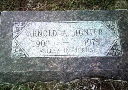 HUNTER, ARNOLD A - Jackson County, Arkansas | ARNOLD A HUNTER - Arkansas Gravestone Photos