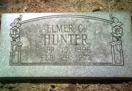 HUNTER, ELMER C - Jackson County, Arkansas | ELMER C HUNTER - Arkansas Gravestone Photos