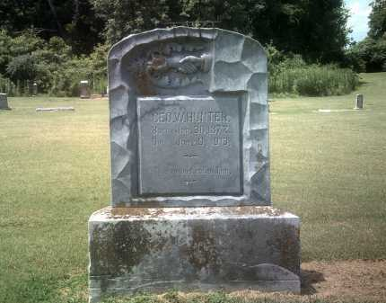 HUNTER, GEO W - Jackson County, Arkansas   GEO W HUNTER - Arkansas Gravestone Photos