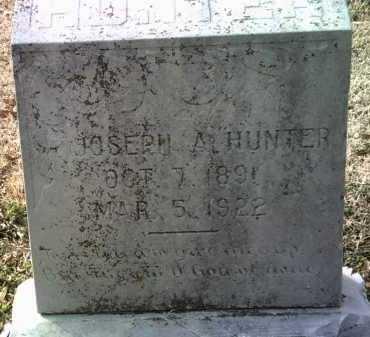 HUNTER, JOSEPH A - Jackson County, Arkansas   JOSEPH A HUNTER - Arkansas Gravestone Photos
