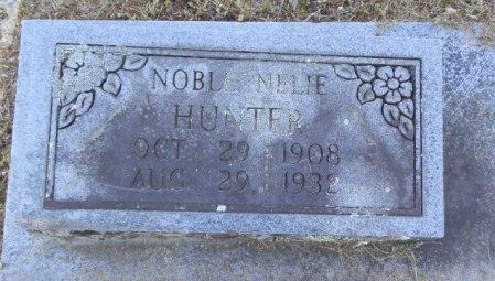 HUNTER, NOBLE NELIE - Jackson County, Arkansas | NOBLE NELIE HUNTER - Arkansas Gravestone Photos