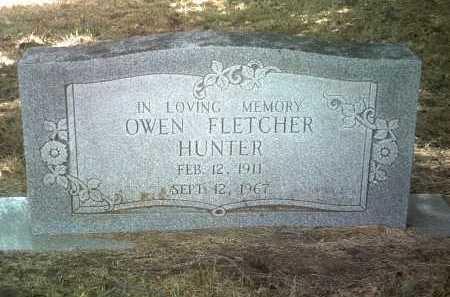 HUNTER, OWEN FLETCHER - Jackson County, Arkansas | OWEN FLETCHER HUNTER - Arkansas Gravestone Photos