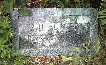 HUNTER, R H - Jackson County, Arkansas   R H HUNTER - Arkansas Gravestone Photos