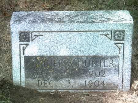 HUNTER, SAMUEL W - Jackson County, Arkansas | SAMUEL W HUNTER - Arkansas Gravestone Photos