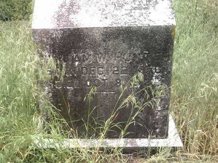 HUNTER, WILLIAM W - Jackson County, Arkansas | WILLIAM W HUNTER - Arkansas Gravestone Photos