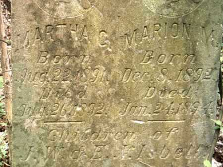 ISBELL, MARION M - Jackson County, Arkansas | MARION M ISBELL - Arkansas Gravestone Photos