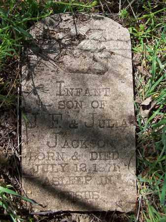 JACKSON, INFANT SON - Jackson County, Arkansas | INFANT SON JACKSON - Arkansas Gravestone Photos
