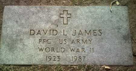 JAMES (VETERAN WWII), DAVID L - Jackson County, Arkansas   DAVID L JAMES (VETERAN WWII) - Arkansas Gravestone Photos
