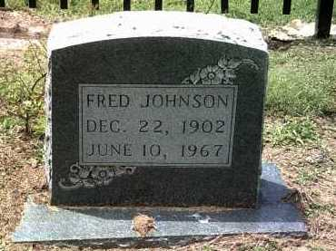 JOHNSON, FRED - Jackson County, Arkansas | FRED JOHNSON - Arkansas Gravestone Photos