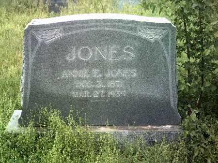 JONES, ANNIE E - Jackson County, Arkansas   ANNIE E JONES - Arkansas Gravestone Photos