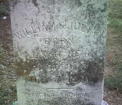 JULIAN, WILLIAM S - Jackson County, Arkansas | WILLIAM S JULIAN - Arkansas Gravestone Photos