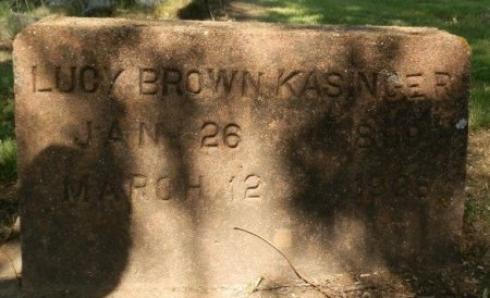 BROWN, LUCY - Jackson County, Arkansas | LUCY BROWN - Arkansas Gravestone Photos