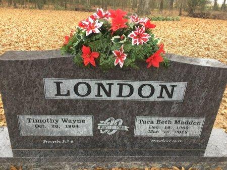 MADDEN LONDON, TARA  BETH - Jackson County, Arkansas | TARA  BETH MADDEN LONDON - Arkansas Gravestone Photos