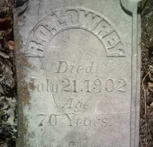 LOWREY (PIC2), R O - Jackson County, Arkansas | R O LOWREY (PIC2) - Arkansas Gravestone Photos