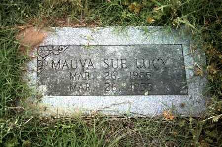 LUCY, MAUVA SUE - Jackson County, Arkansas | MAUVA SUE LUCY - Arkansas Gravestone Photos