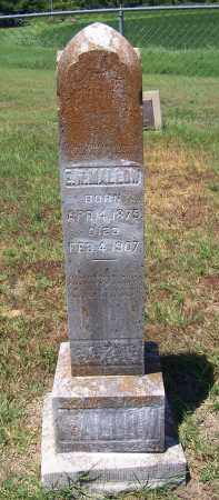 MALLOW, E W - Jackson County, Arkansas | E W MALLOW - Arkansas Gravestone Photos