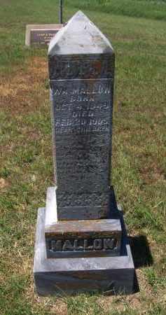MALLOW, WILLIAM - Jackson County, Arkansas   WILLIAM MALLOW - Arkansas Gravestone Photos