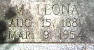 MCRAYNOLDS (PIC2), M LEONA - Jackson County, Arkansas   M LEONA MCRAYNOLDS (PIC2) - Arkansas Gravestone Photos