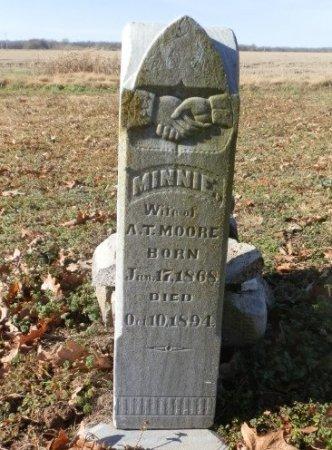MOORE, MINNIE - Jackson County, Arkansas   MINNIE MOORE - Arkansas Gravestone Photos