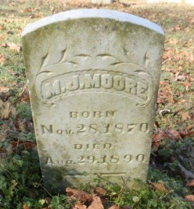 MOORE, M. J. - Jackson County, Arkansas | M. J. MOORE - Arkansas Gravestone Photos