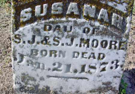 MOORE, SUSANAH - Jackson County, Arkansas | SUSANAH MOORE - Arkansas Gravestone Photos