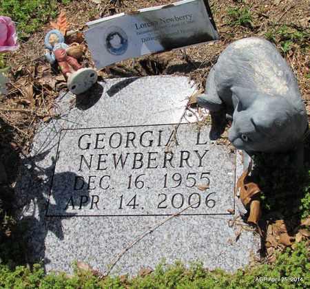 NEWBERRY, GEORGIA L - Jackson County, Arkansas   GEORGIA L NEWBERRY - Arkansas Gravestone Photos