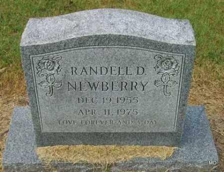 NEWBERRY, RANDELL D - Jackson County, Arkansas   RANDELL D NEWBERRY - Arkansas Gravestone Photos