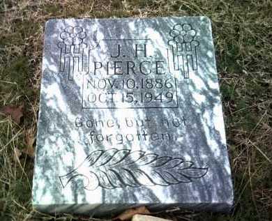 PIERCE, J H - Jackson County, Arkansas   J H PIERCE - Arkansas Gravestone Photos