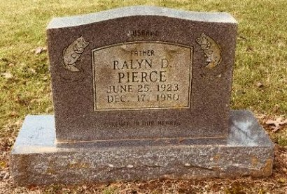 PIERCE, RALYN D - Jackson County, Arkansas | RALYN D PIERCE - Arkansas Gravestone Photos