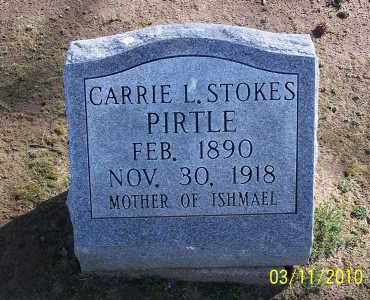 PIRTLE, CARRIE L - Jackson County, Arkansas   CARRIE L PIRTLE - Arkansas Gravestone Photos