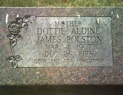 POLSTON, DOTTIE ALDINE - Jackson County, Arkansas | DOTTIE ALDINE POLSTON - Arkansas Gravestone Photos