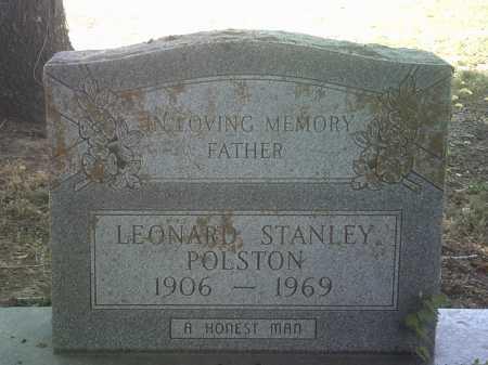 POLSTON, LEONARD STANLEY - Jackson County, Arkansas | LEONARD STANLEY POLSTON - Arkansas Gravestone Photos