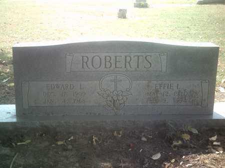 GATES ROBERTS, EFFIE I - Jackson County, Arkansas | EFFIE I GATES ROBERTS - Arkansas Gravestone Photos