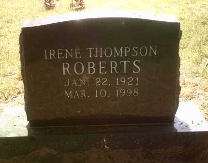 ROBERTS, IRENE - Jackson County, Arkansas | IRENE ROBERTS - Arkansas Gravestone Photos