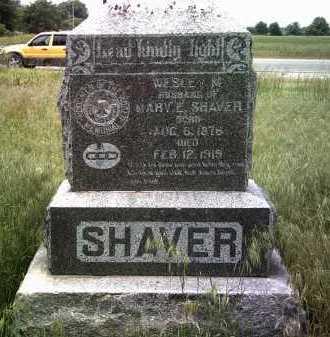 SHAVER, WESLEY M - Jackson County, Arkansas | WESLEY M SHAVER - Arkansas Gravestone Photos